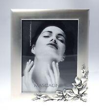 Cornice Portafoto MASCAGNI 13x18 Silver Plated c/Album Portafoto 15x21 18 Buste