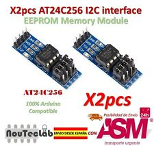 2pcs AT24C256 I2C interface EEPROM Memory Module