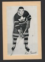 1944-63 Beehive Group II Toronto Maple Leafs Photos #455 Ron Stewart