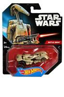 Hot Wheels Car Star Wars Battle Droid Rare #27 1:64 Diecast BNIP