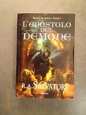R.A. SALVATORE - L'apostolo del demone - Ed. Armenia - 2001