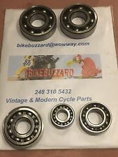 Yamaha Engine Ball Bearing SET of 5 DT1 DT2 DT3 250 NEW!