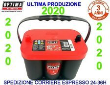 BATTERIA OPTIMA 2020 AGM 50AH 1000A RTC 4,2 RED JEEP DODGE -APPENA ARRIVATE-