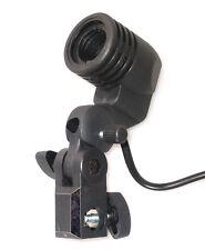 E27 Lampensockel  Lampenhalterung  Lampenfassung +Blitzhalter für Studio Licht