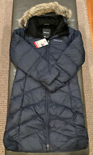 NWTs Marmot Women's Down Montreaux Coat. Sz. Small. Midnight Navy (MSRP $300)
