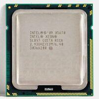 Intel XEON X5670 Six Core HEX 2.93GHz 12MB SLBV7 XEON CPU 1366 Turbo 3.33GHz