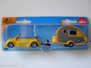 Car With Caravan, Siku Super ,Art.1629 , New, Boxed