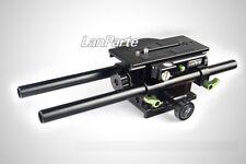 Lanparte Adjustable BasePlate V Mount Quick Release Plate for DSLR Video Camera