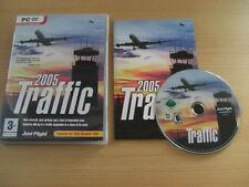 TRAFFIC 2005 Pc DVD Rom Add-On Expansion Flight Simulator Sim 2004 FS2004