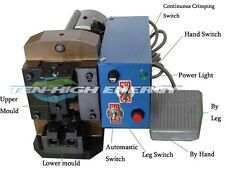 Semiautomatic Rj45 Wire Crimping Machine,RJ45 RJ11 RJ12 Cable Crimper,4p ~10p10c