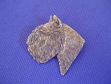 Bouvier Head Study Pin #43B Pewter He 00004000 rding Dog Jewelry by Cindy A. Conter