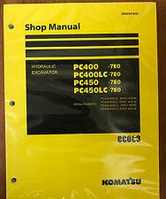 Komatsu PC400-7E0 PC400LC-7E0 PC450-7E0 PC450LC-7E0 Service Repair  Manual