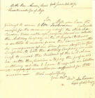 1817 MAINE MILITIA ARTILLERY COMPANY REQUEST POWDER TO SALUTE PRESIDENT ON VISIT