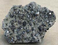 Galena, Quartz, Iridescent Chalcopyrite Crystals - Madan Ore Field, Bulgaria