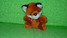 "California Stuffed Toys FOX Plush Stuffed Animal Toy 5"" tall"