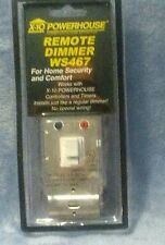 X10 Wall Switch White Instant-On Dimmable Model #: Ws467 & Others => New-In-Box