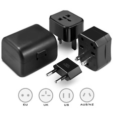 Universal Travel Adapter Power Worldwide Plug Adaptor UK/USA/EU/AU 150+Countries