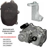 P2015 FAULT INTAKE MANIFOLD SWIRL FLAP AUDI VW VOLKSWAGEN SKODA SEAT FIX REPAIR