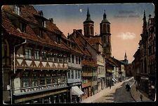 Göttingen Niedersachsen Color AK ~1910 Blick in die Johannisstraße ungelaufen