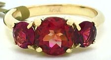 NATURAL 2.68 Cts TOURMALINE RING 14K GOLD ** New with Tag & FREE Appraisal **