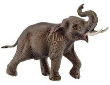 Schleich 14754 Asian Elephant Male Bull Animal Model Toy Figurine - NIP