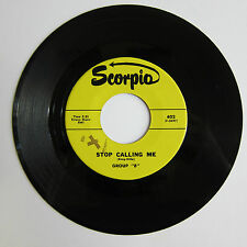 GROUP B: Stop Calling Me / She's Gone - M- (rs) on Scorpio  - Garage / Folk Rock