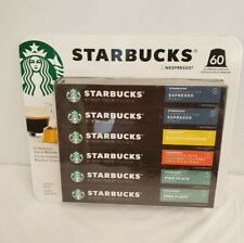 Starbucks by Nespresso Original Line Variety Pack Capsules, 60 Count