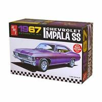 AMT 981 1967 Chevrolet impala SS 1:25 Scale Plastic Model Kit -Requires Assembly