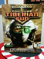 Command and Conquer Big Boxed Tiberian Sun CD ROM and inserts! Sealed!