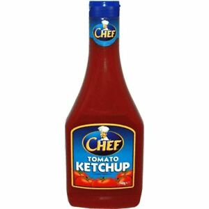 CHEF SQUEEZY KETCHUP 12x485g