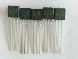 BC238 B / C   10Stück. NPN Bipolar Transistors - BJT TO-92
