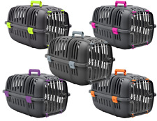 More details for heritage cat carriers kitten puppy dog pet safe travel carrier crate carry box