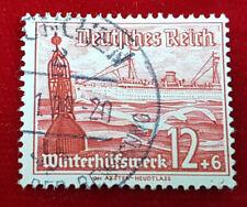 Briefmarke Deutsches Reich 12+6 Pfennig Winterhilfswerk Nr. 656 (1C4)