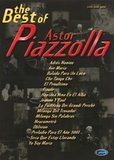 The Best Of Astor Piazzolla Voice, Piano Accompaniment Sheet Music Vocal Album