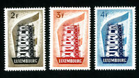 Luxembourg Stamps # 318-20 XF OG NH Key to Europa Set of 3 Scott Value $155.00