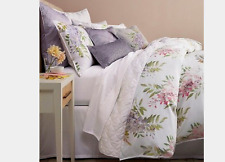 BLOOMINGDALE'S 1872 Wisteria 100% Cotton 300TC KING DUVET COVER