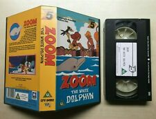 ZOOM THE WHITE DOLPHIN - RARE - VHS VIDEO