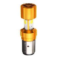 H4 LED COB 18W Motorcycle Bike Hi/Lo Headlight Lamp Bulb DC 12-24V BA20D 1600LM