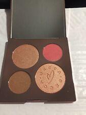 Becca x Chrissy Teigen Glow Face Palette Blush Bronzer Skin Perfector 0.53oz LTD