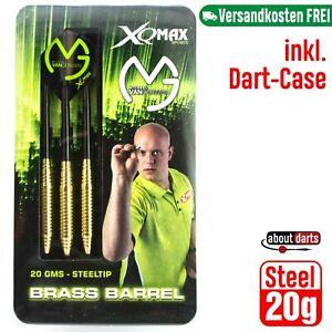 MvG | 20g Steeldarts | Einsteiger Dartset Dartpfeile Darts Dartpfeil van Gerwen
