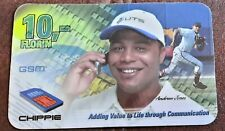 ANDREW JONES BASEBALL PHONE 10 FLORIN PHONE CARD CHIPPIE GSM STUTS