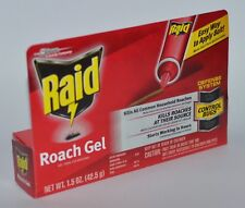 NEW RAID ROACH GEL KILLING SYRINGE KILL EASY APPLY BAIT FAST 1.5OZ 42.5G DEFENSE