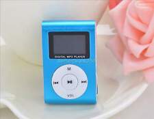 Fashion 32GB Mini Clip On LCD Display MP3 Player With FM Radio