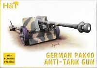 HäT/HaT WWII German Pak 40 Anti-tank Gun 1/72 Scale 25mm