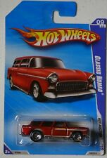 Hot Wheels 2010 No 165 Classic Nomad Red Chevrolet Chevy