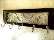 Décoratif Vestiaire Colonial Garderobe de couloir avec 5 crochet,
