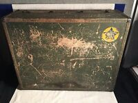 WWII USN US Navy Aviation Hartmann SEAPACK Trunk Suitcase NAMED USNATB Texas