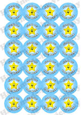 Star of the Week Stickers, 45mm Children Reward Stickers x 24 for School/Teacher