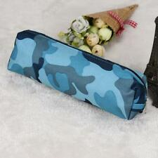 4 Colors Camouflage Pen Pencil Case Pouch Stationery Bags Cosmetic Makeup Bag