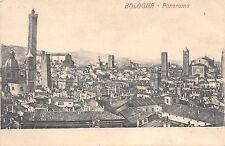 8880) PANORAMA DI BOLOGNA DIECI TRA TORRI E CAMPANILI VG NEL 1910.